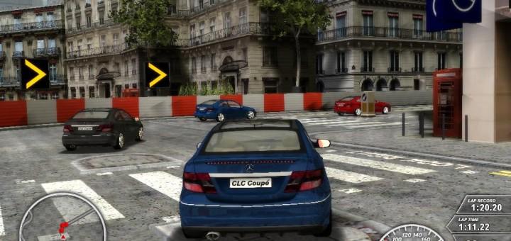 Mercedes CLC screenshot
