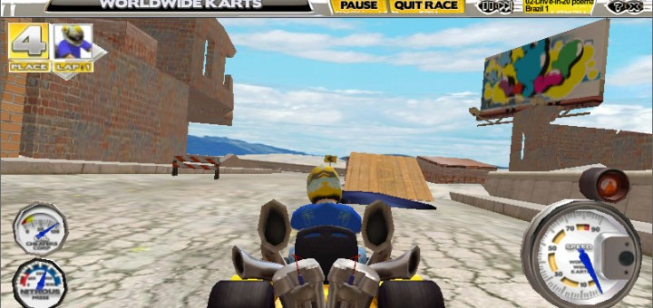 Worldwide Karts screenshot